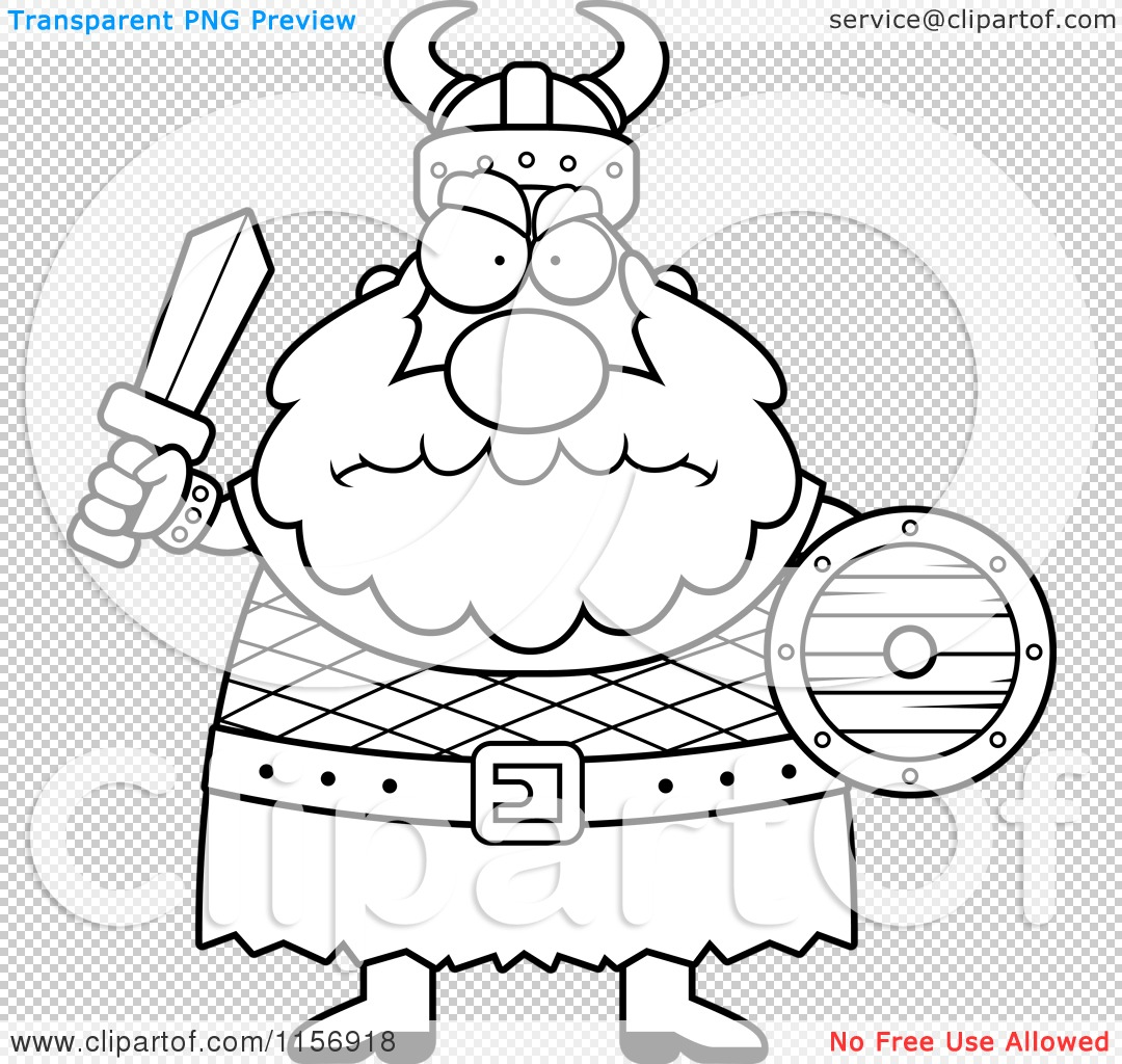 Printable coloring pages vikings - Png File Has A