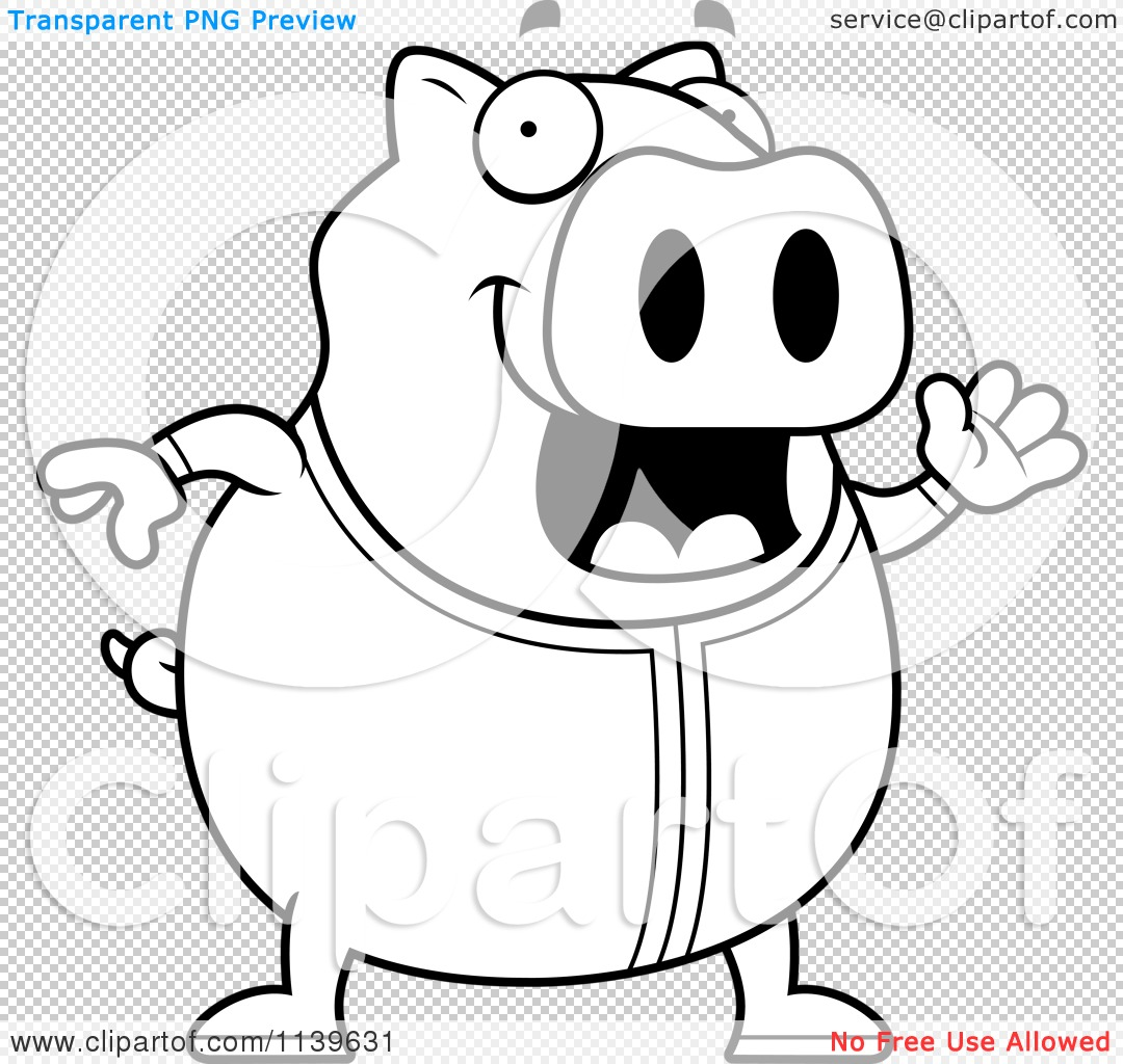 pigs in pajamas coloring pages - photo#1