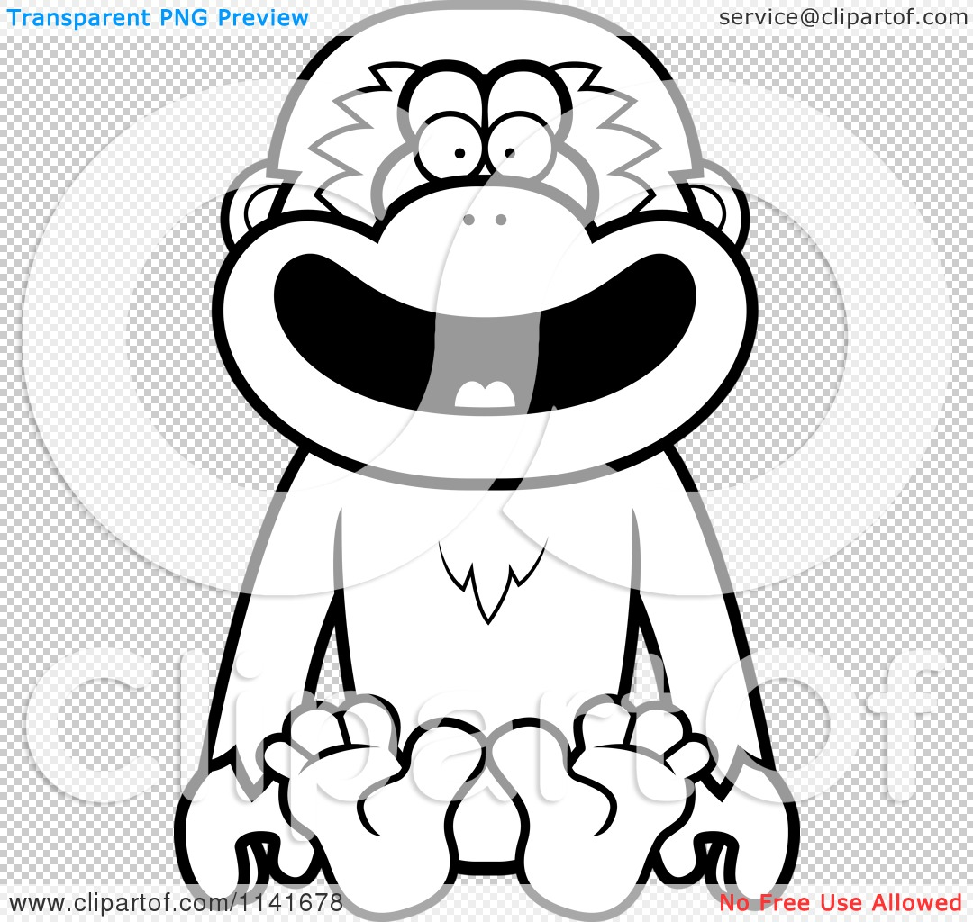Pin Gibbon Coloring Page On Pinterest