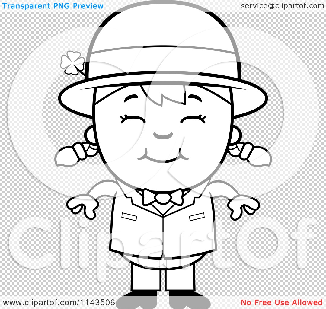 Co coloring book page leprechaun - Coloring Book Page Leprechaun Png File Has A Transparent Background
