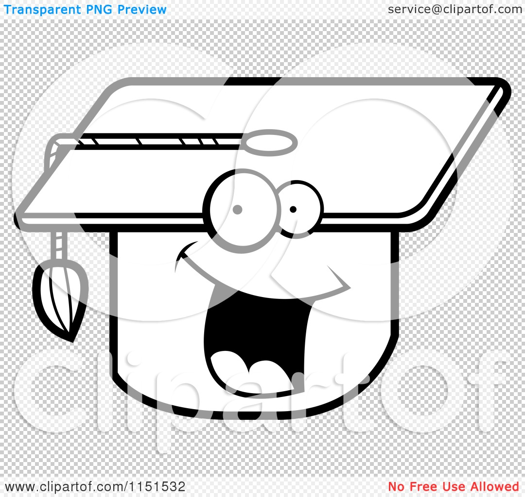 Coloring pages graduation - Png File Has A