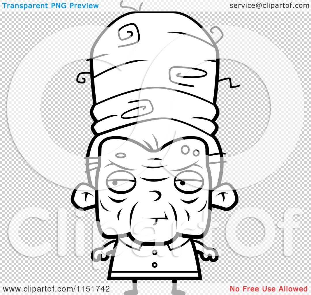 Clip Art Old Lady Coloring Page old lady coloring page eassume com cartoon clipart of a black and white with tall hair