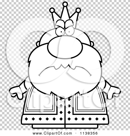 Mad King Clipart