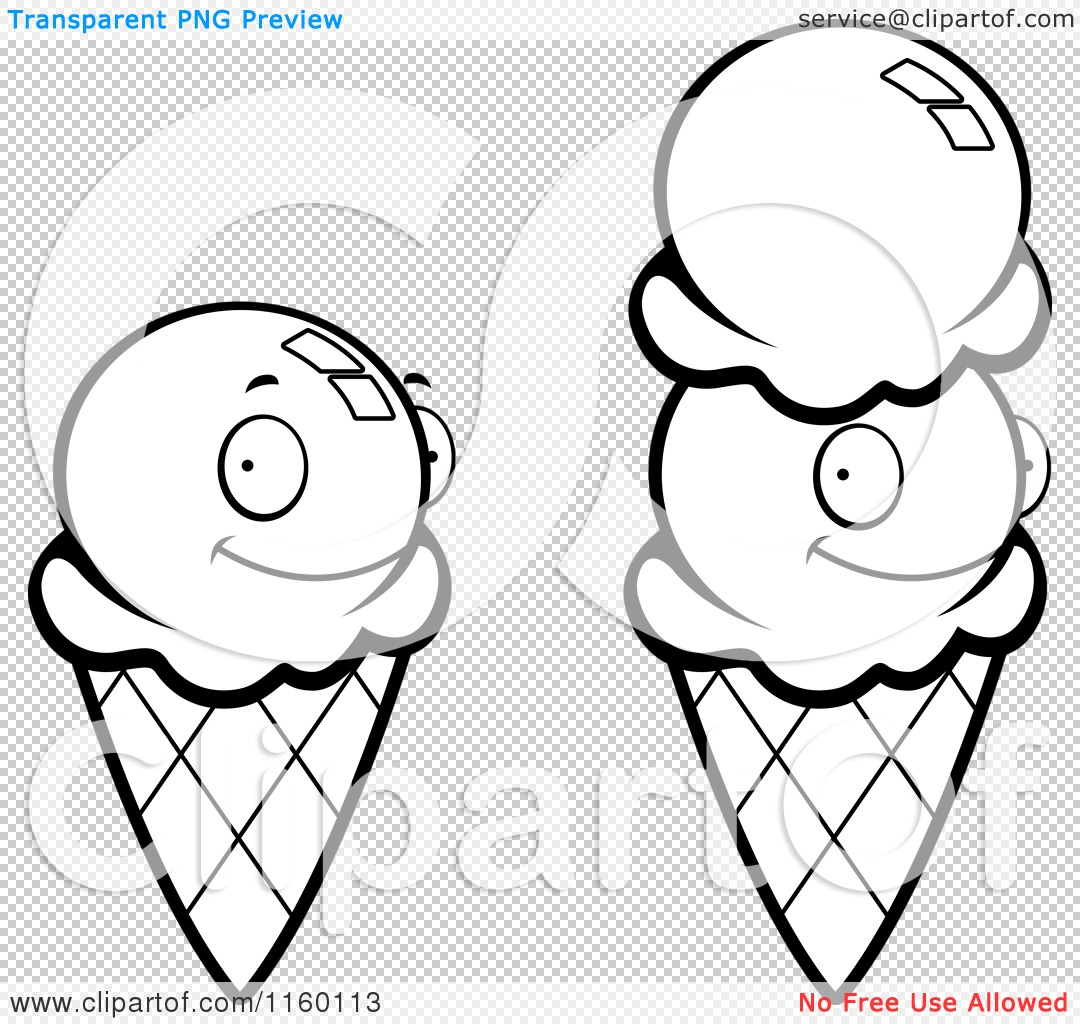 Coloring pictures of ice cream cones - Coloring Pictures Of Ice Cream Cones Png File Has A Transparent Background