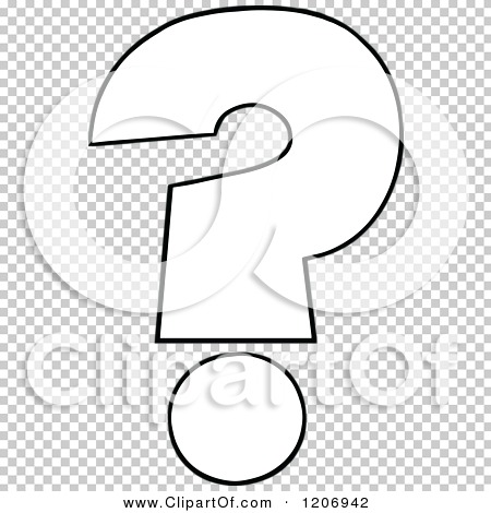 Question Clip Art Black And White Question Mark Clip Art Black