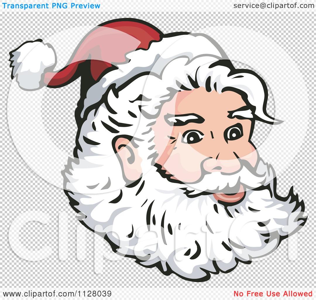 1080 x 1024 jpeg 189kB, Santa Claus Face Patterns | New Calendar ...