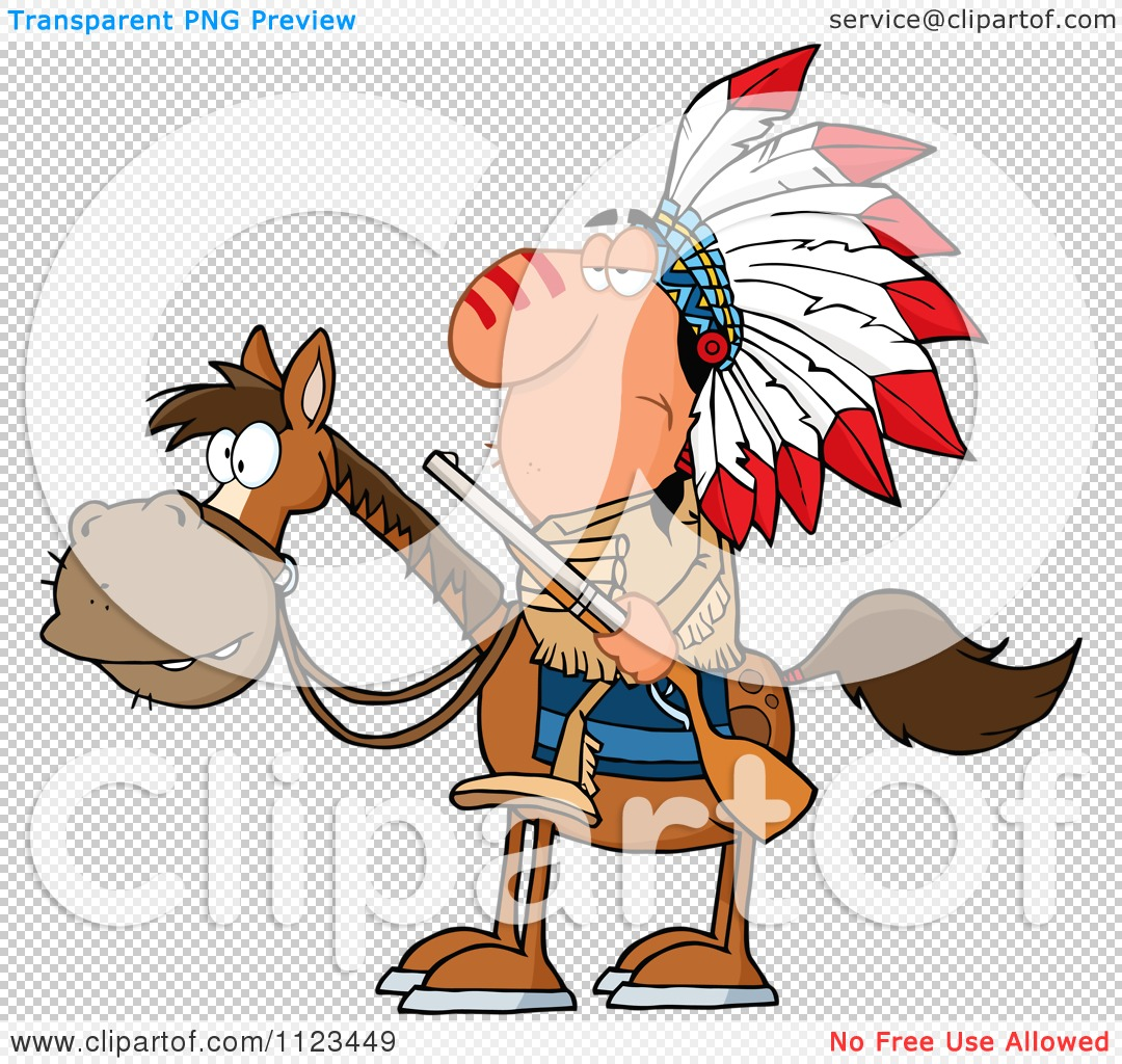 Cartoon Indian Clipart