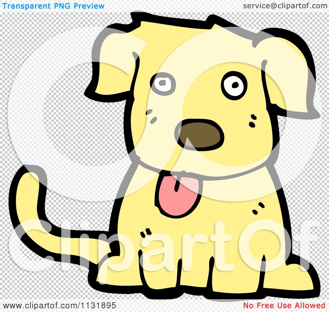 yellow dog clipart - photo #35