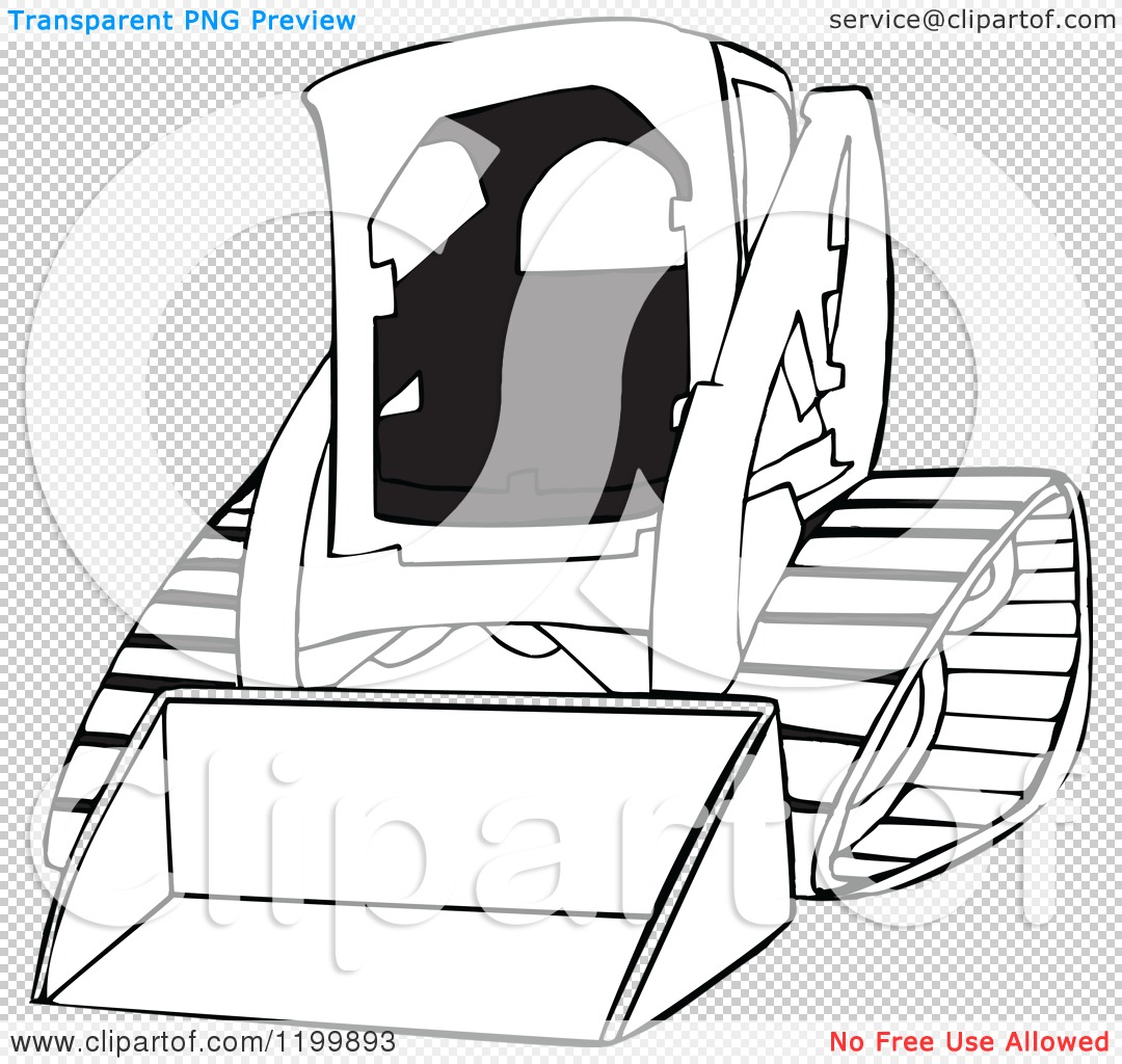 Bobcat construction coloring pages - Png File Has A