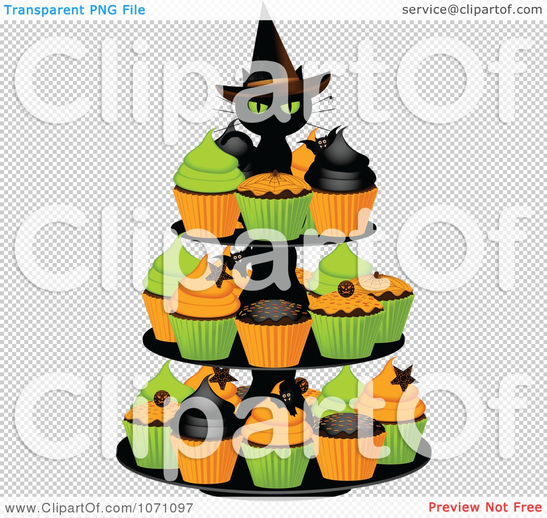 png file has a - Halloween Cupcake Holder