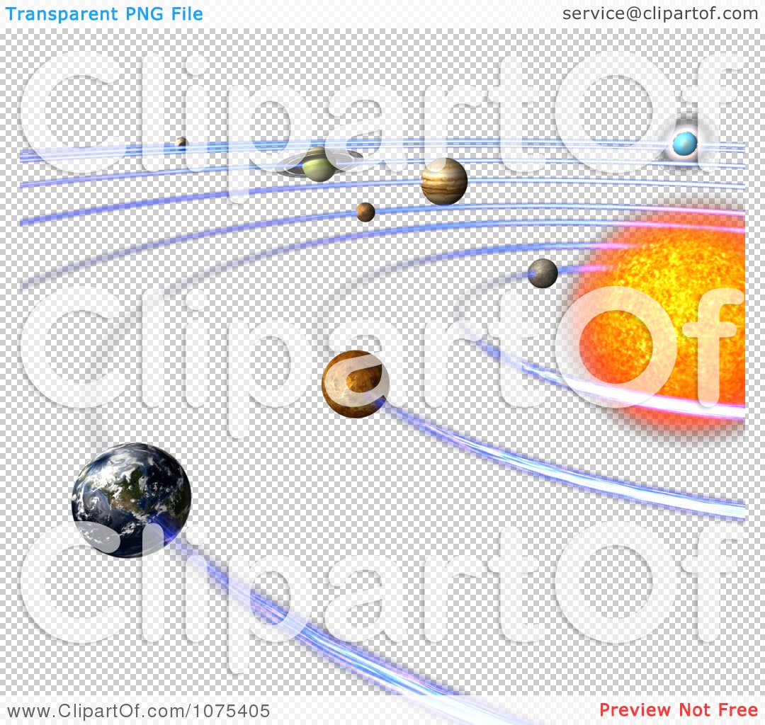 Clipart 3d Solar System 4 - Royalty Free CGI Illustration by Ralf61 #1075405