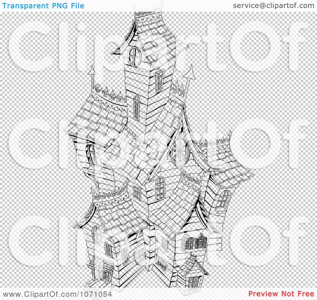 ... Haunted Mansion Clipart , Haunted Castle Clipart , Haunted House