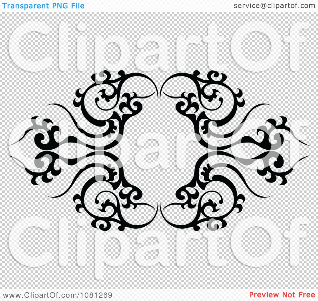 clipart black and white tribal frame tattoo design element royalty free vector illustration by. Black Bedroom Furniture Sets. Home Design Ideas