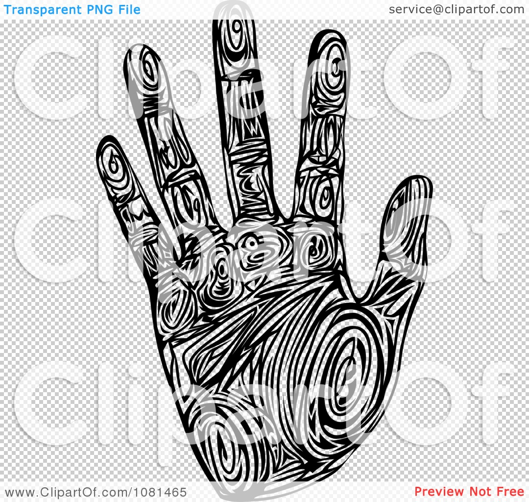 The PNG File Has A White Handprint Png