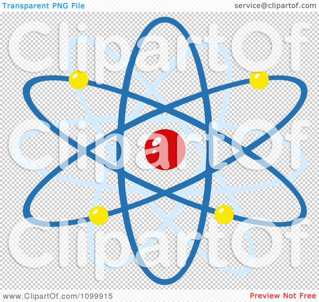 Clipart Colorful Atom - Royalty Free Vector Illustration by Hit ...