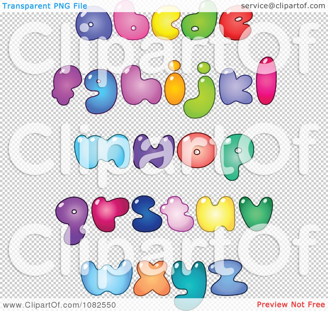 Bubble Letters Alphabet  actionalphabetcom
