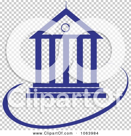 Clipart Court House Logo - Royalty Free Vector Illustration by ...
