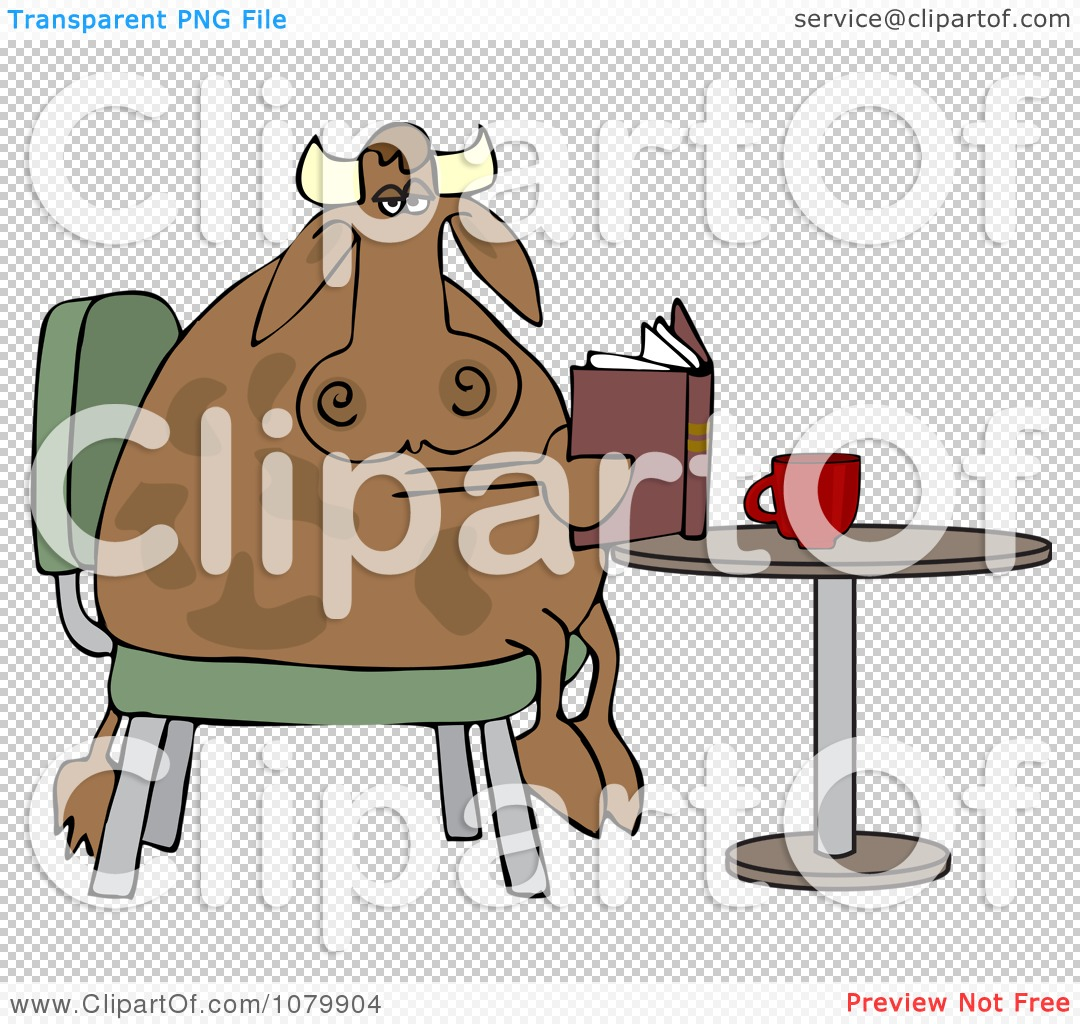 Cow Cart Clipart PNG file has a