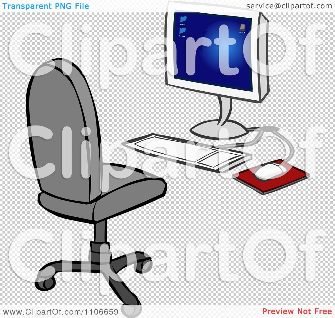 Computer Chair Clipart
