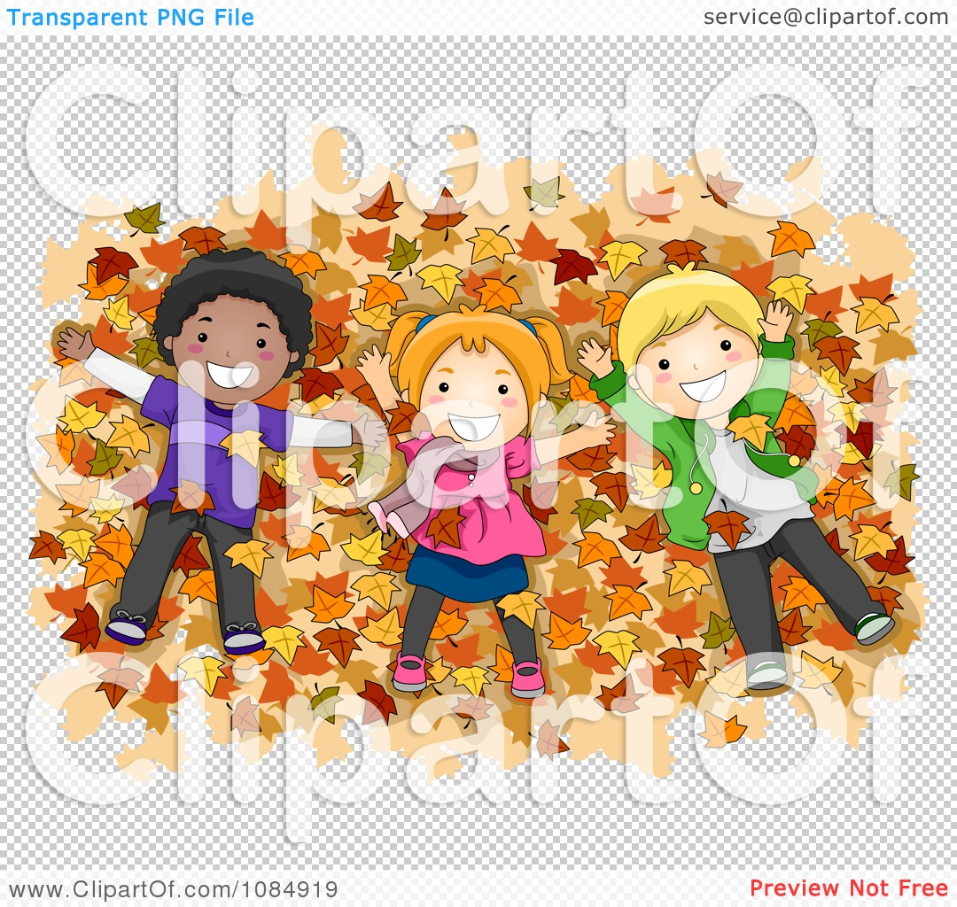 Pile Of Fall Leaves Clip Art Royalty free clipart