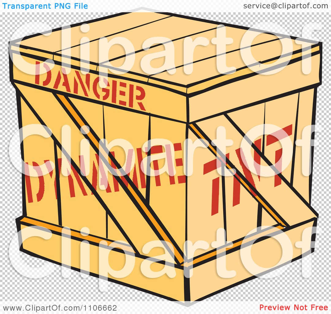 Tnt Dynamite Logo Of a dynamite crate,