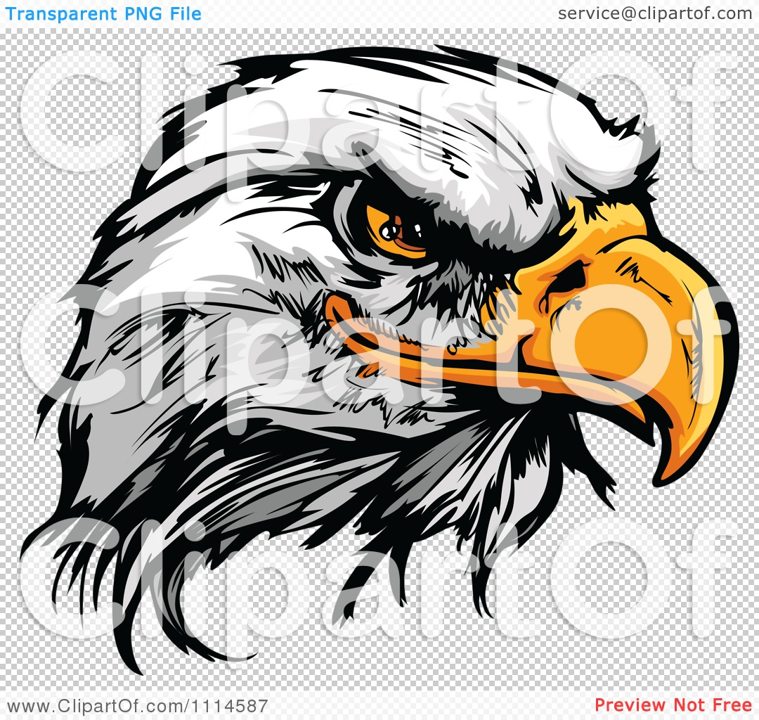 The PNG file has a  Eagle Head Png