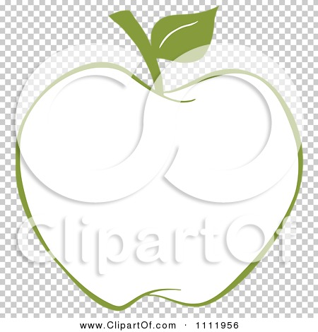 Clipart Green Apple Outline - Royalty Free Vector ... Green Apple Outline Clip Art