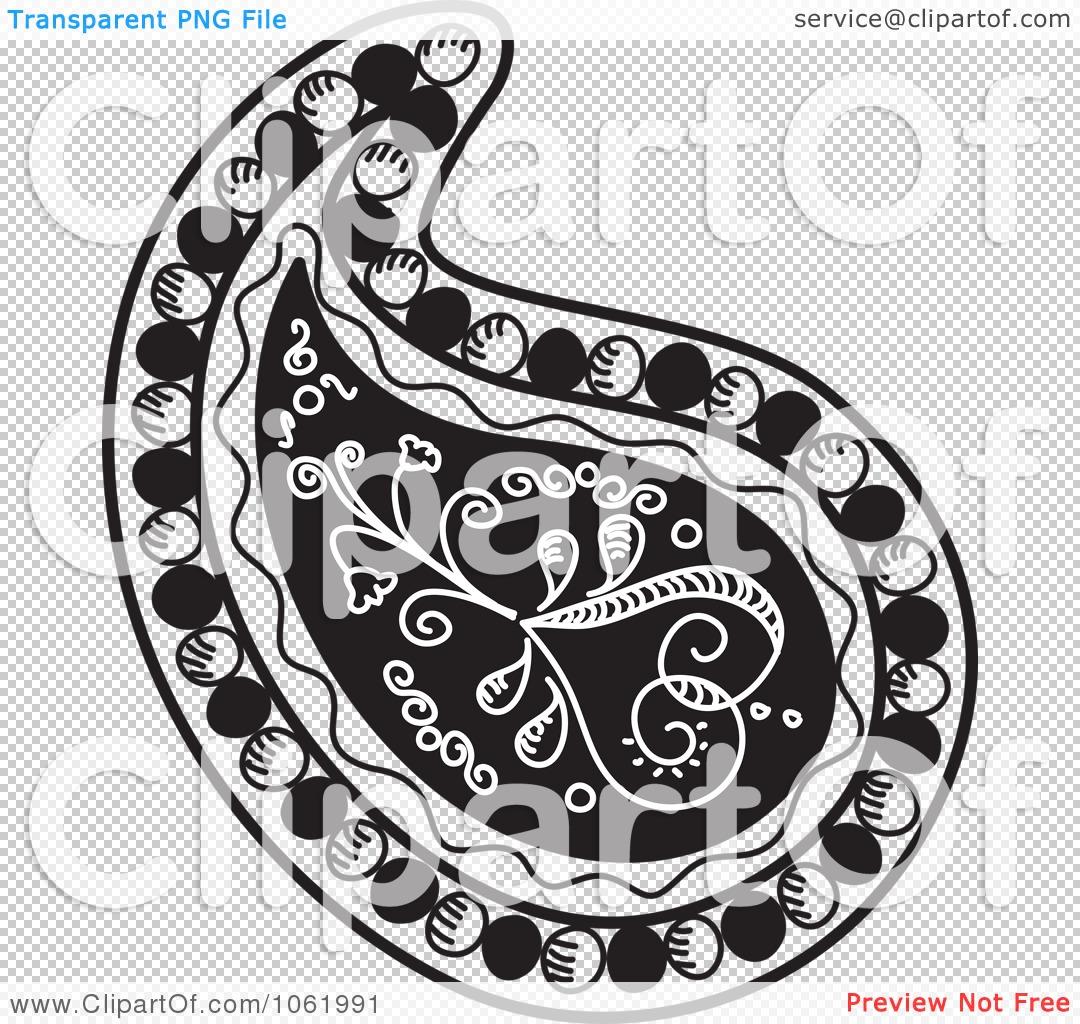 Black And White Paisley Bandana Pattern Black White Paisley Pattern