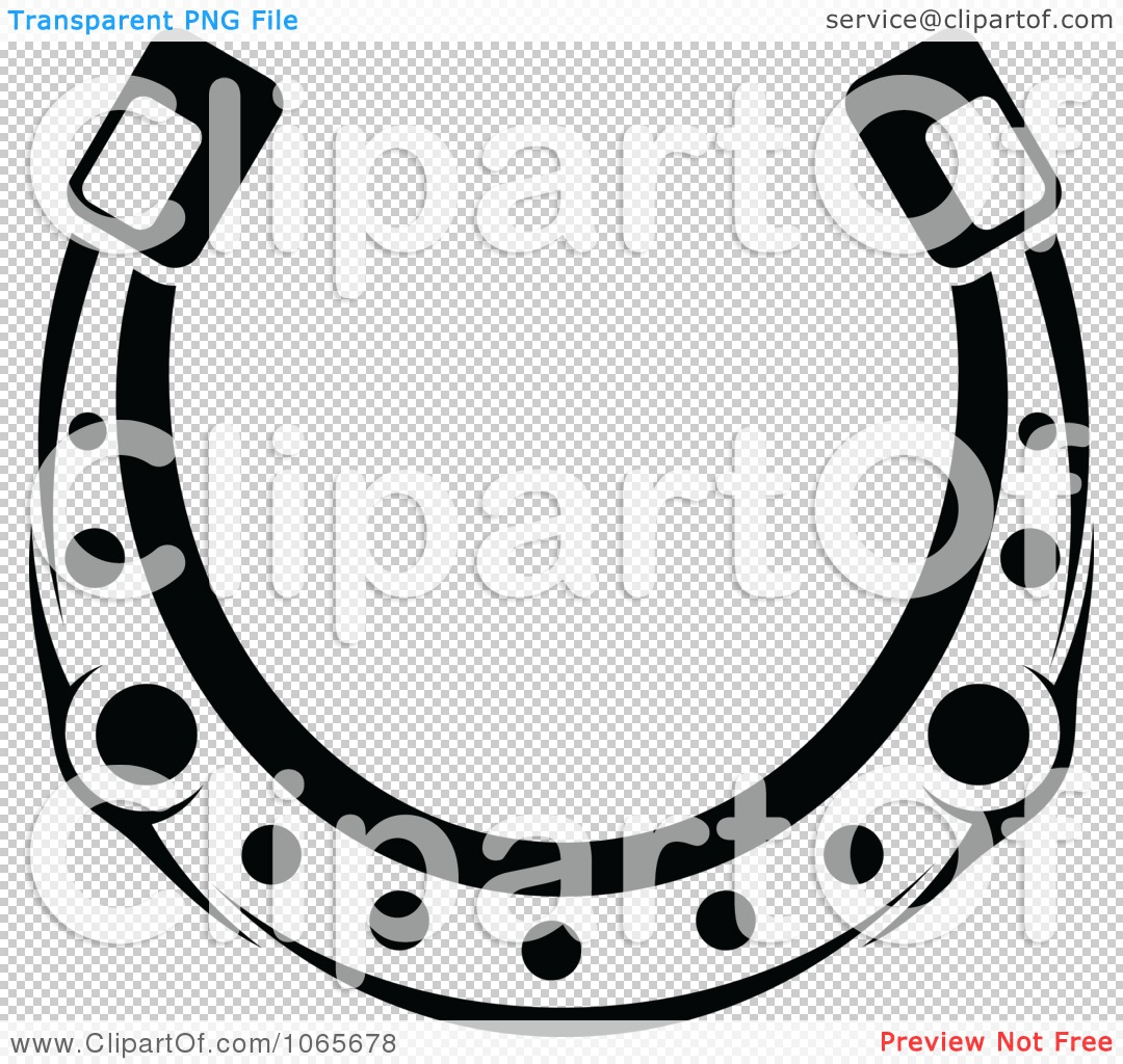 Royalty Free Toilet Clip Art Vector Images: Clipart Horseshoe Icon 2