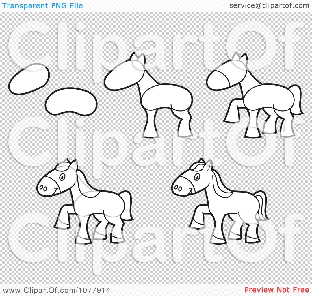 Фигура лошади рисунок 4