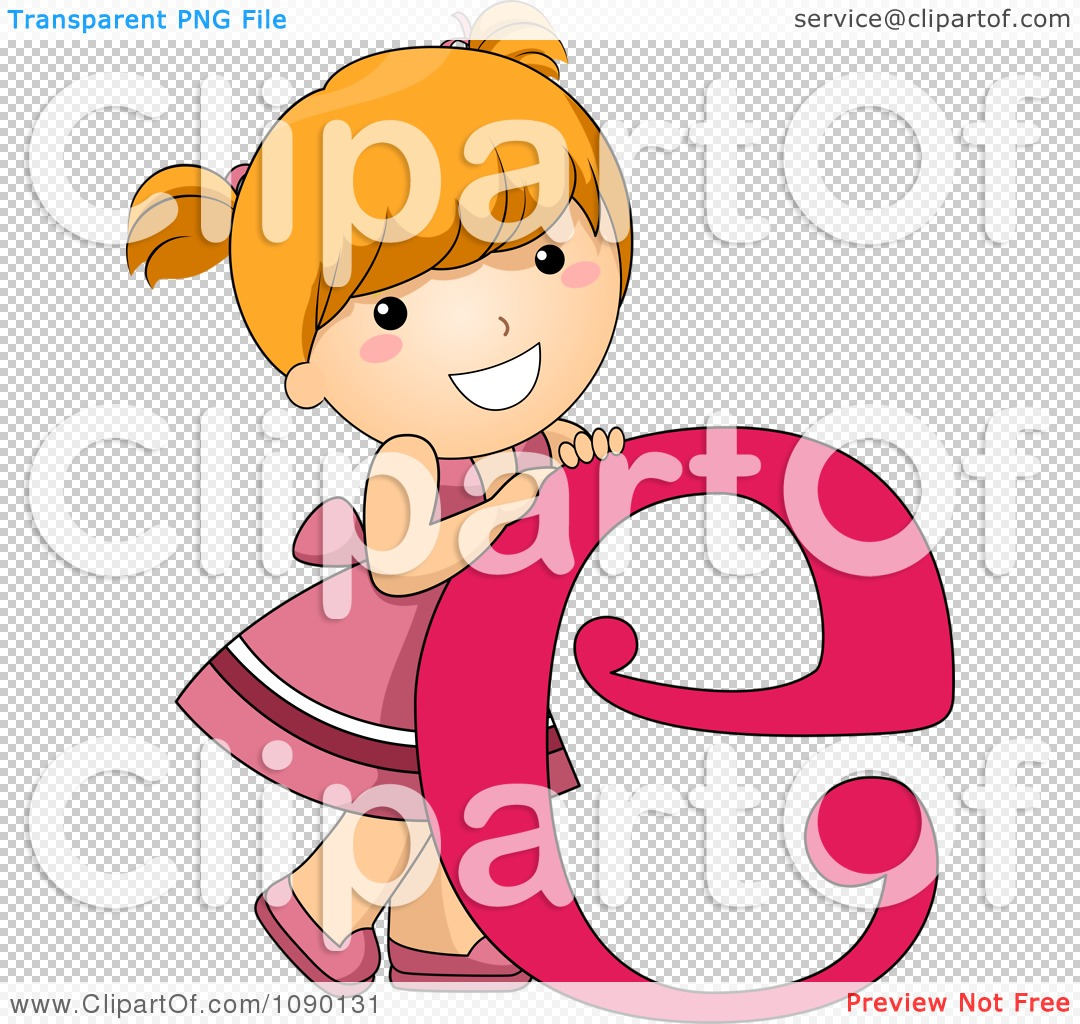 Clipart letter e girl child royalty free vector illustration by png file has a altavistaventures Image collections