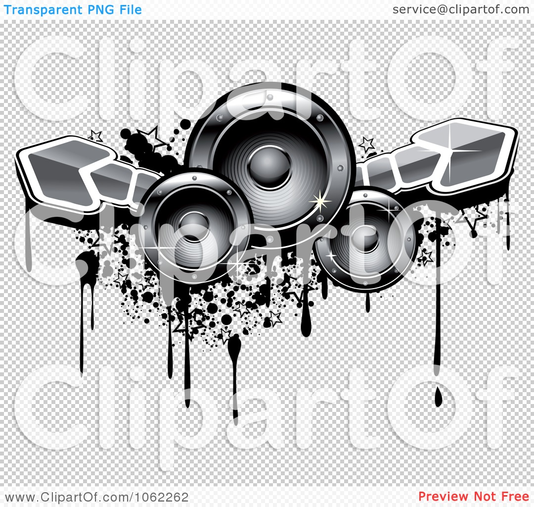 music speakers clipart. png file has a transparent background. music speakers clipart