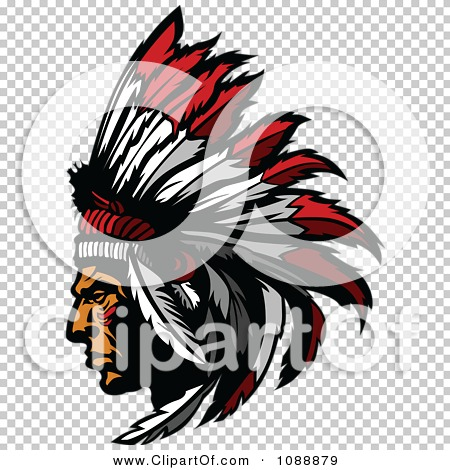 clipart native american indian chief and feather headdress Skull Indian Headdress Clip Art Indian Warrior Clip Art