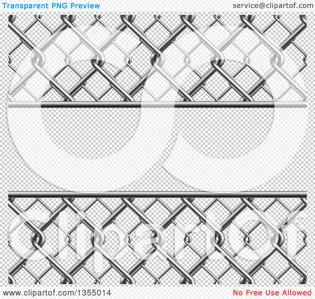 Wire fence transparent