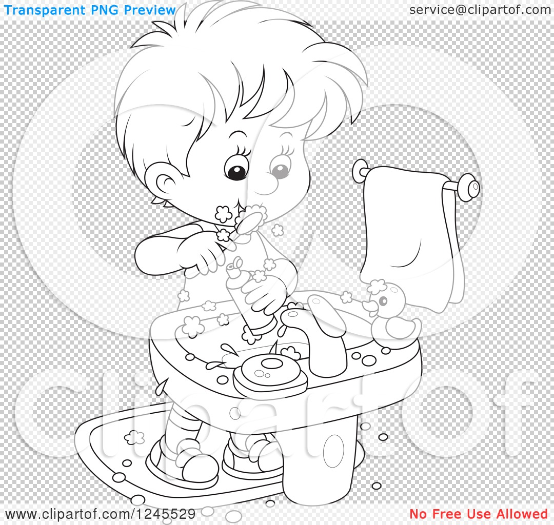 Bathroom clipart black and white - Png File Has A