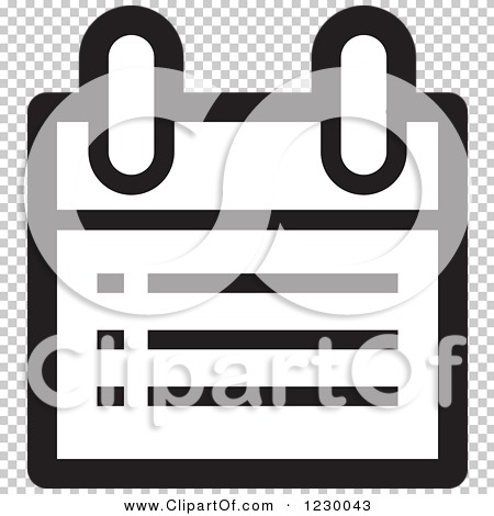 Calendar Clipart Black And White