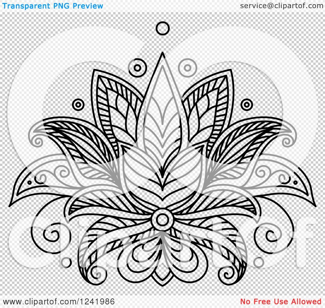 Lotus Flower Drawing Henna Amazing Wallpapers