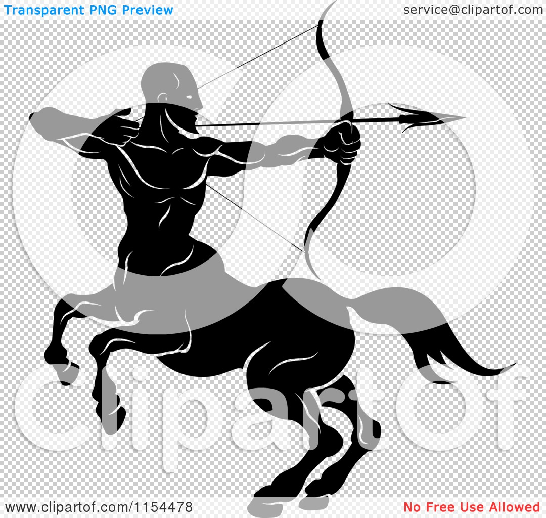 Clipart of a Black and White Horoscope Zodiac Astrology ...