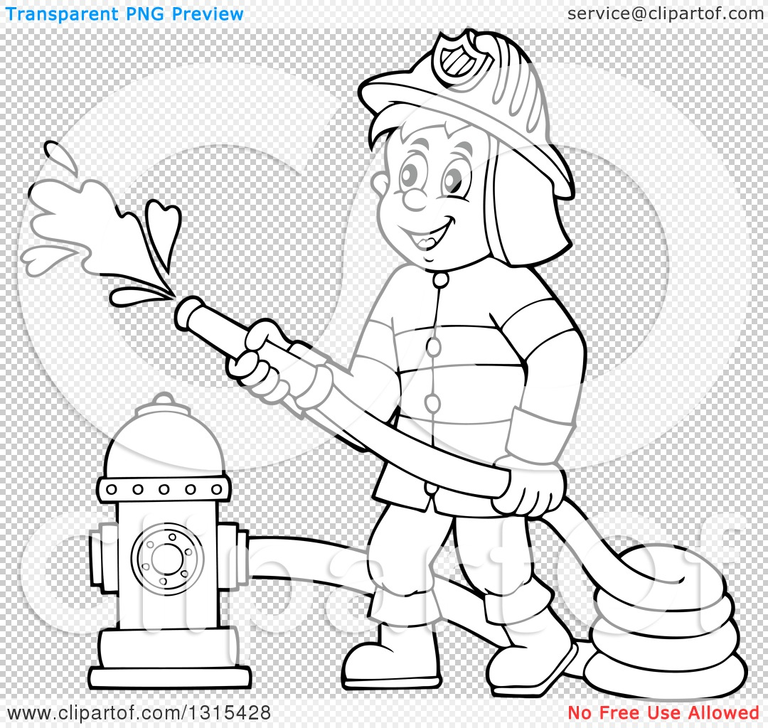 cartoon fireman ai stock vector illustration of cartoon