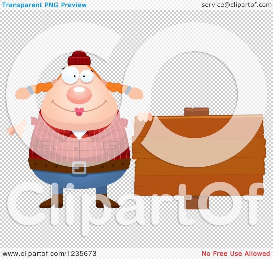 Vector Illustration - Female lumberjack holding chainsaw. Stock Clip Art  gg109416258 - GoGraph