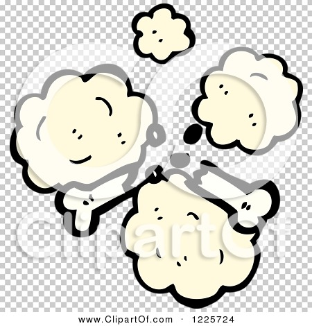 Clipart of a Dusty Broken Bone - Royalty Free Vector Illustration ...
