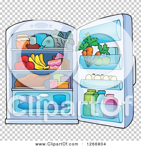 Full Fridge Clipart