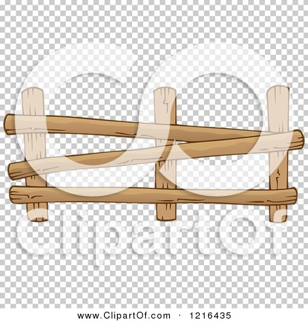 Farm Fence Clipart clipart of a log farm fence 2 - royalty free vector illustration