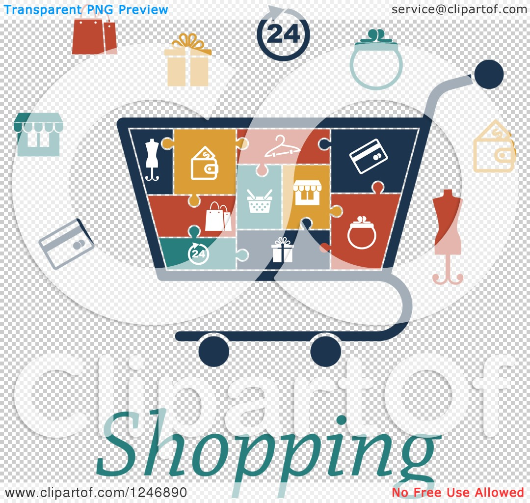Strange Clipart Of A Puzzle Piece Shopping Cart Infographics Diagram With Wiring Digital Resources Sapebecompassionincorg