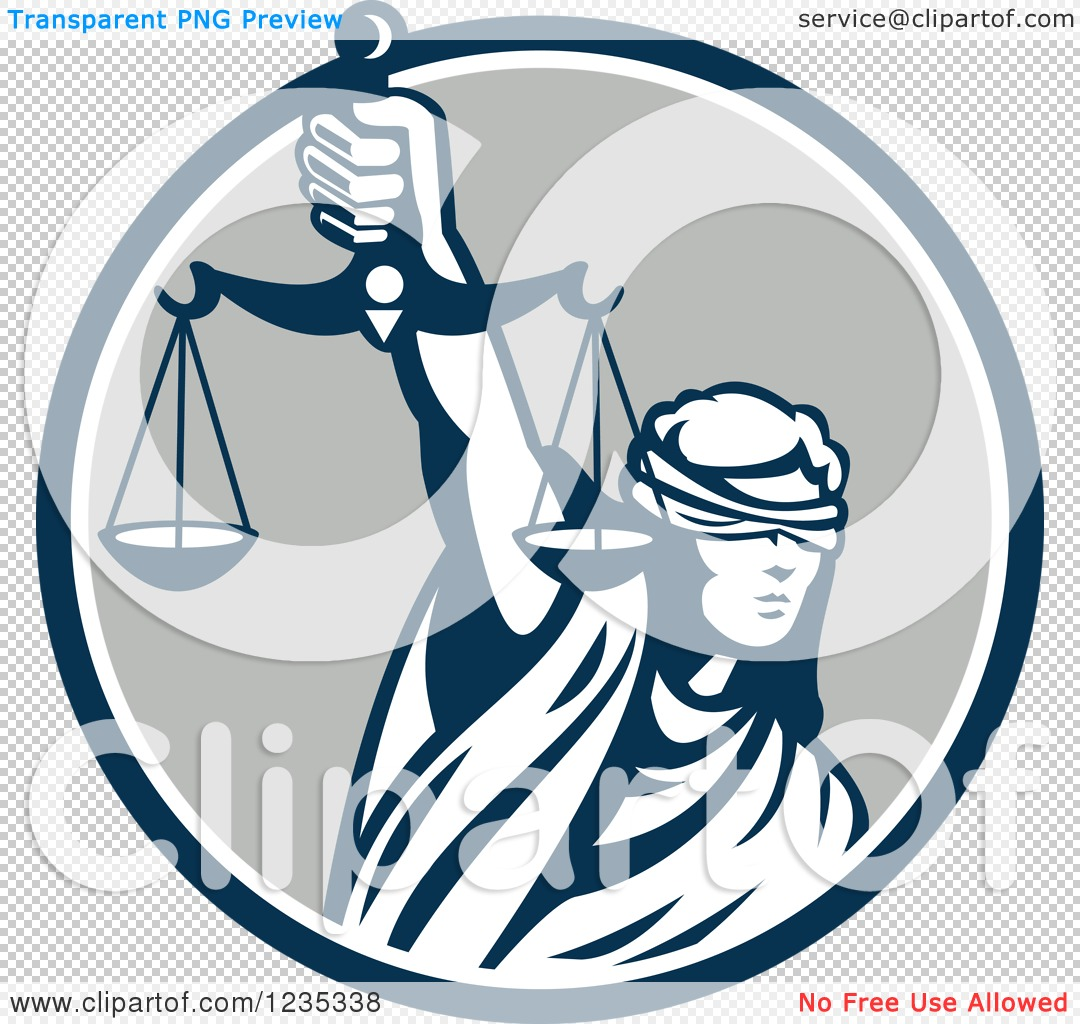 clipart of a retro blindfolded lady justice holding scales Lady Justice Clip Art scales of justice clipart free