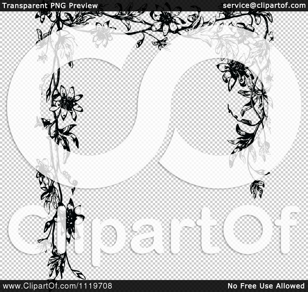 Flowers Background Black And White Png Flowers Background Black And