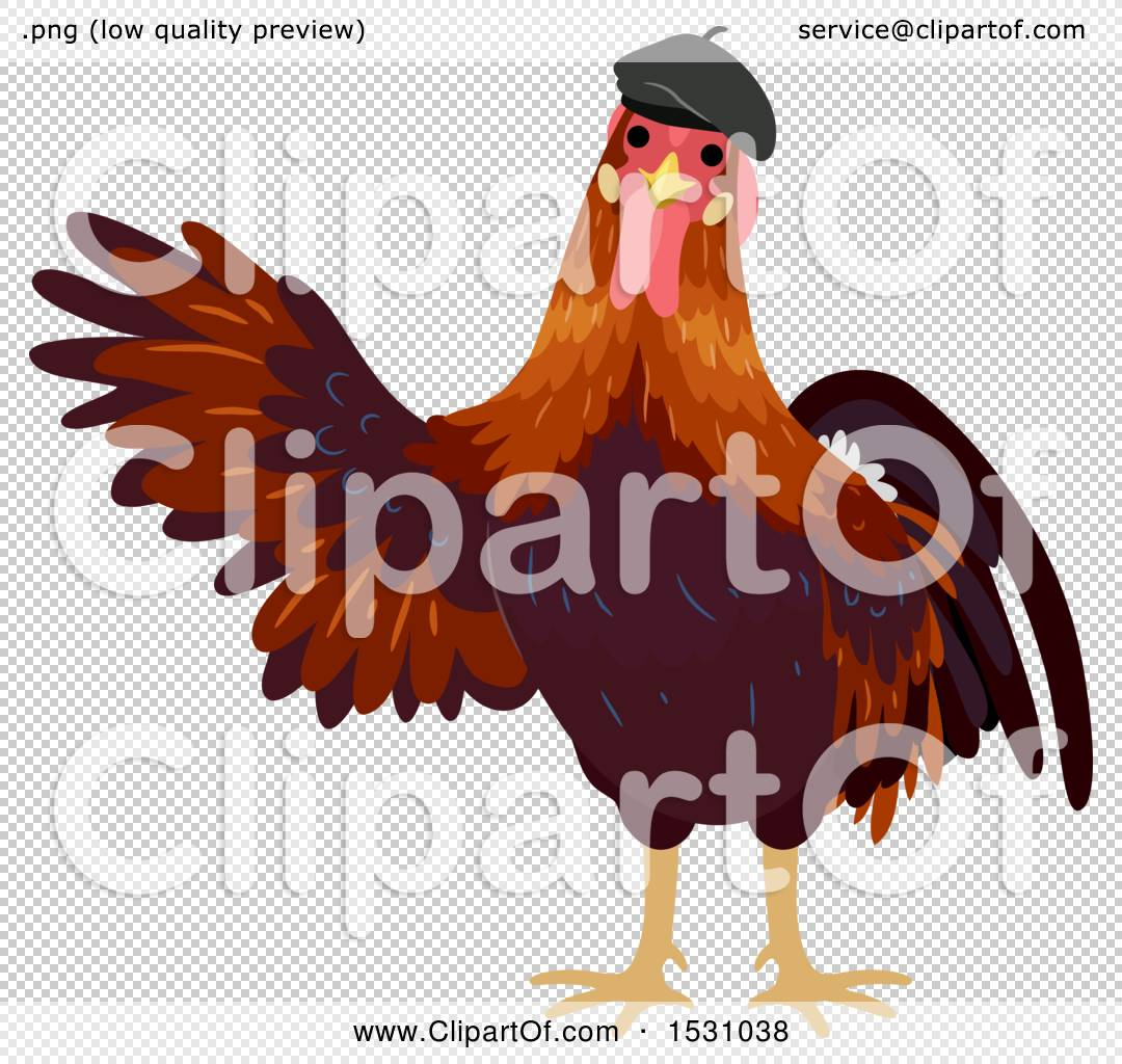 46bc783a93b Clipart of a rooster wearing a french beret hat royalty free jpg 1080x1024  Clipart french beret