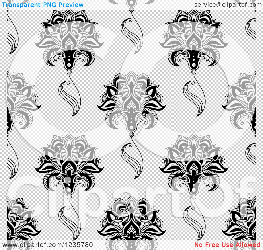 Flower Pattern Png Simple Flower Pattern Png The