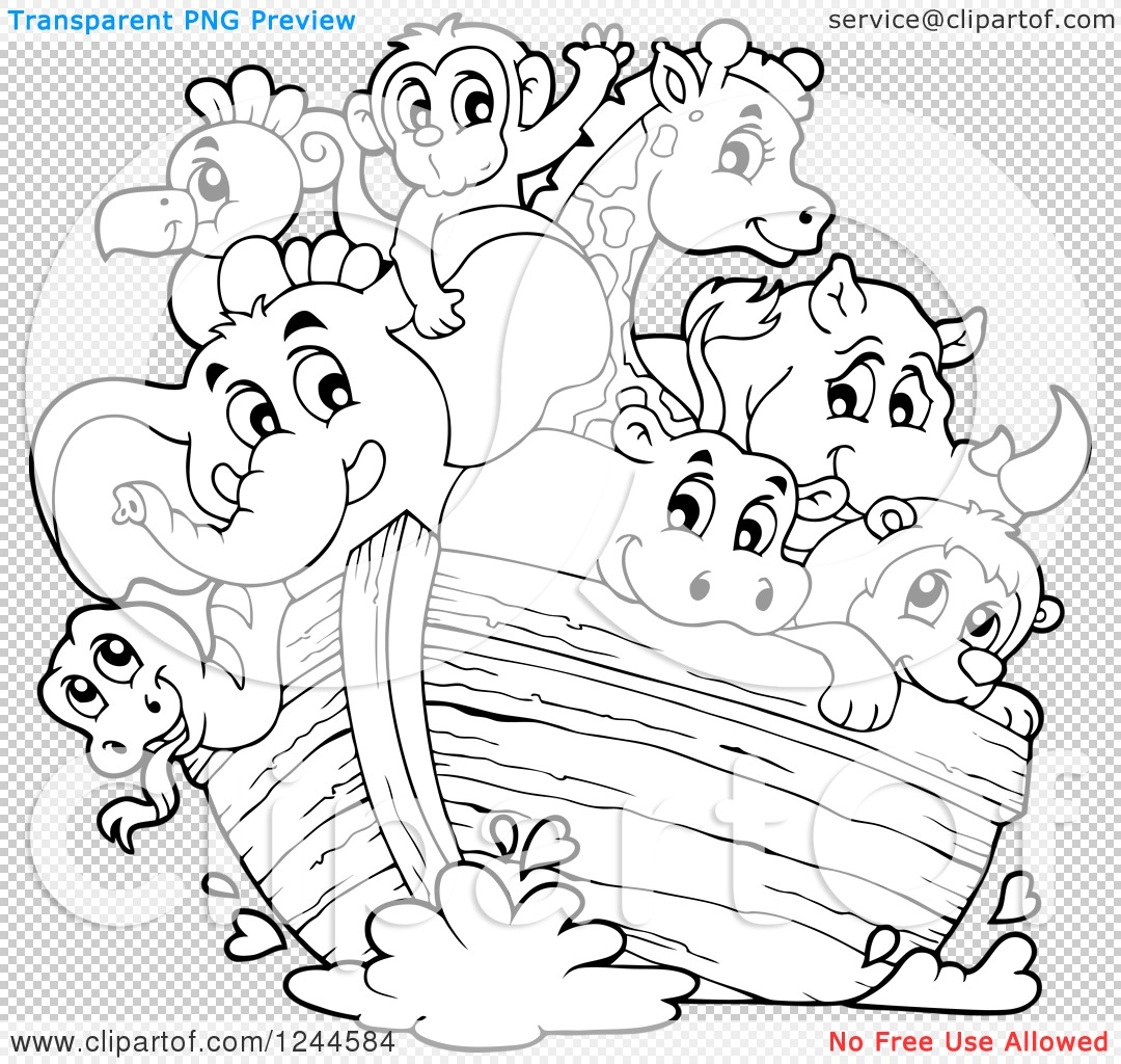 Free printable coloring pages noahs ark - No No Noahs Ark Colouring Pages Png File Has A