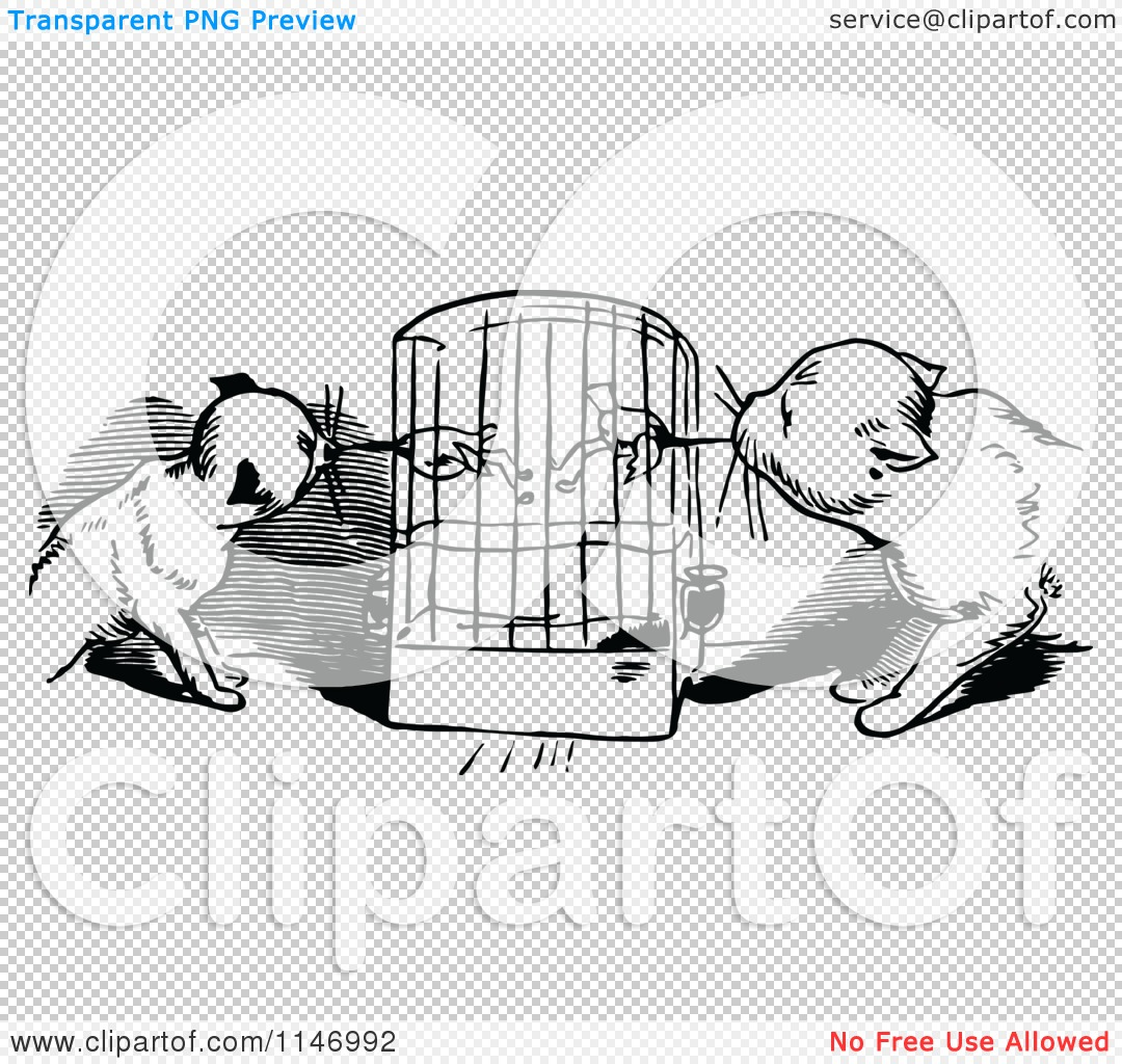 cat cage clipart - photo #36